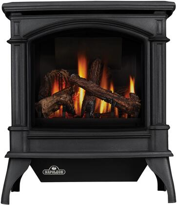 Napoleon Knightsbridge GDS601NSB Gas Heating Stove Black, Metallic Black, Standard Panels