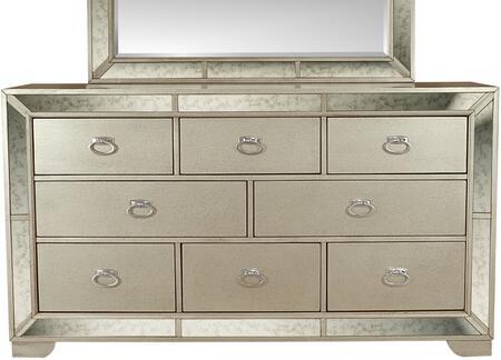 Myco Furniture Madi MA197DR Dresser Silver, 1