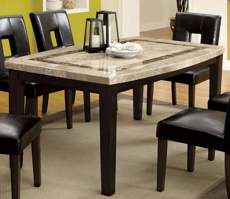 Furniture of America Lisbon I CM3693OT Dining Room Table Brown, main image