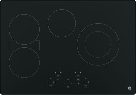 GE  JP5030DJBB Electric Cooktop Black, Main Image