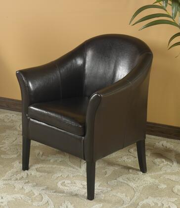 Armen Living 1404 LCMC001CLBC Living Room Chair Brown, 1