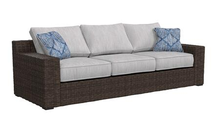 Signature Design by Ashley Alta Grande P782838 Outdoor Patio Sofa Brown, Main Image