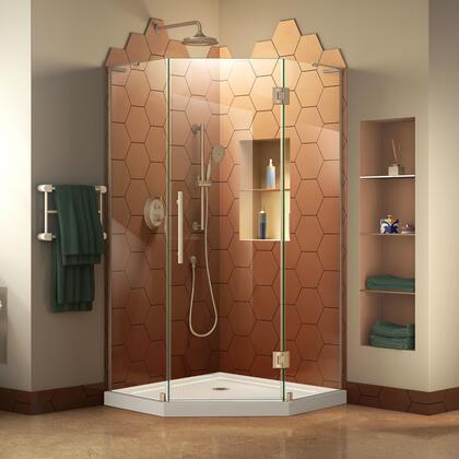 DreamLine Prism Plus DL606304 Shower Enclosure White, Main Image