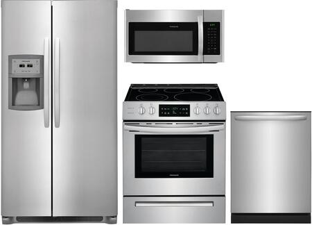 Frigidaire  1333079 Kitchen Appliance Package Stainless Steel, 48