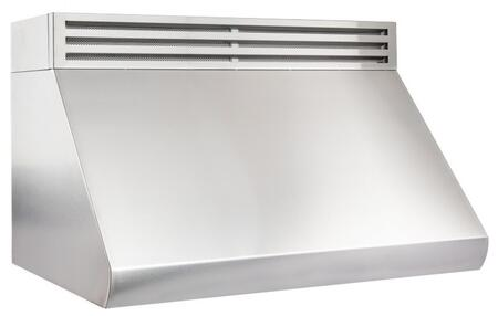 """RK527-30 30"""" Recirculating Under Cabinet Range Hood with 1000 CFM Push Button Controls LED Lights and Stainless Steel Baffle Filters in Stainless"""
