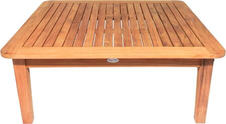 Royal Teak Collection Miami MIAT42S Outdoor Patio Table Brown, MIAT42S Main Image