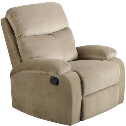 Acme Furniture Mayborn 53897 Recliner Chair Beige, 1
