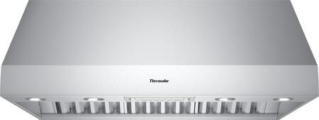 Thermador Professional PH36GS Wall Mount Range Hood Stainless Steel, PH36GS 36-Inch Wall Hood with 27-Inch Depth