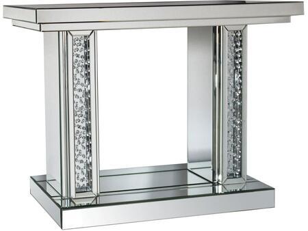 Acme Furniture Nysa 90230 Console Silver, Console Table