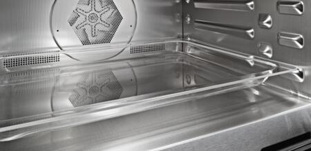 Miele  H670BM Single Wall Oven Stainless Steel, Stainless Steel Cabinet with PerfectClean Finish