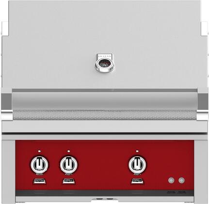 Hestan GSBR30LPRD Liquid Propane Grill Red, Main Image