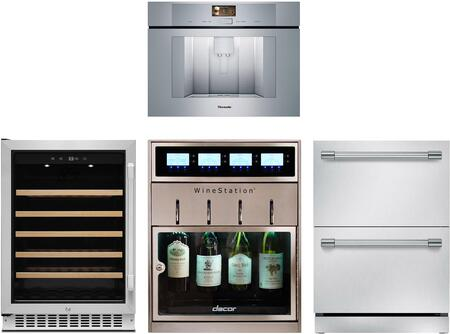 Dacor  1140151 Kitchen Appliance Package Stainless Steel, main image