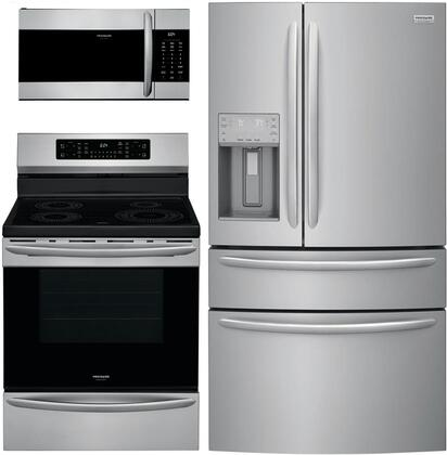 Frigidaire  1010220 Kitchen Appliance Package Stainless Steel, Main image