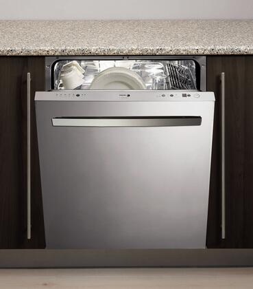 Fagor LFA086XL Built-In Dishwasher Stainless Steel, 1