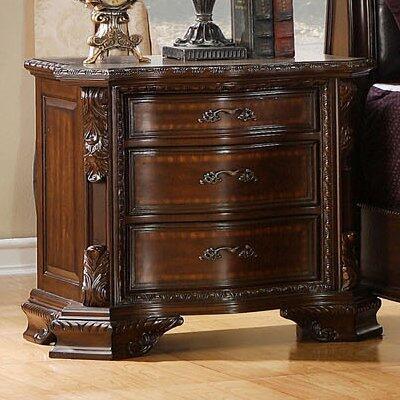 Furniture of America Monte Vista I CM7267N Nightstand Brown, Main Image