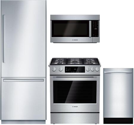 Bosch Benchmark 975334 Kitchen Appliance Package & Bundle Stainless Steel, main image