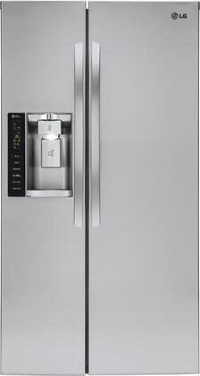 LG  LSXC22426S Side-By-Side Refrigerator Stainless Steel, Main Image