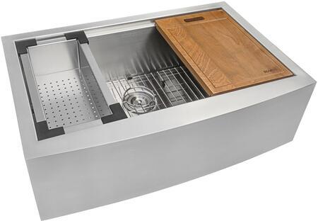 Ruvati Verona RVH9300 Sink Stainless Steel, 1
