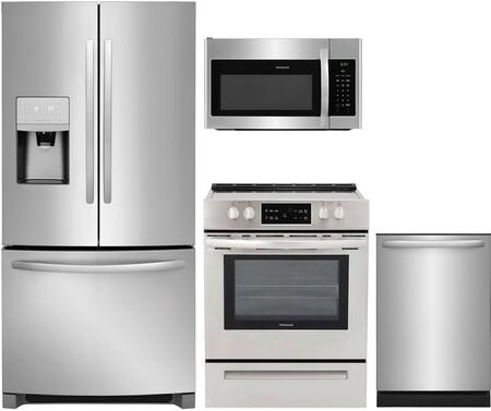 Frigidaire 1089304 Kitchen Appliance Package & Bundle Stainless Steel, main image