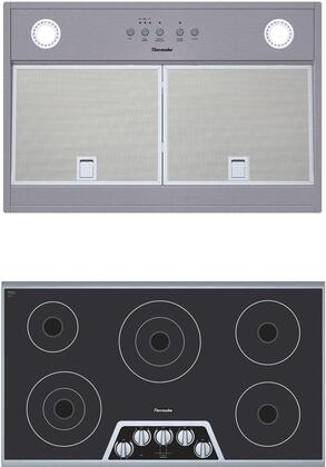 Thermador  1071356 Kitchen Appliance Package Stainless Steel, main image