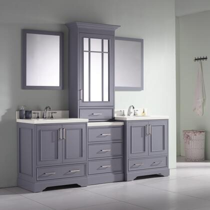 Ariel Stafford M085DGRY Sink Vanity Gray, M085DGRY lifestyle