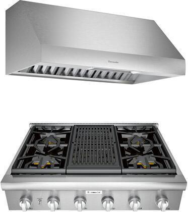 Thermador Professional 1071412 Kitchen Appliance Package Stainless Steel, main image