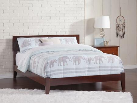 Atlantic Furniture Orlando AR8151034 Bed Brown, AR8151034