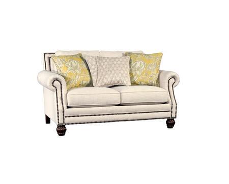 Chelsea Home Furniture Swampscott 394300F30LKL Loveseat White, 394300F30LKL Front