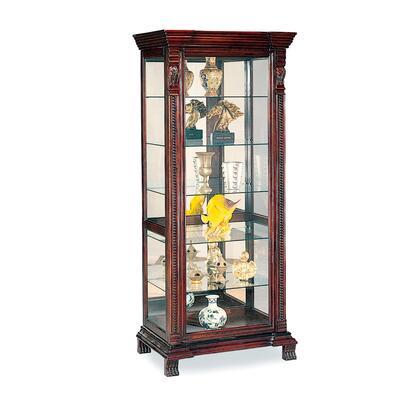 Coaster Curio Cabinets 4715 Curio Cabinet Brown, 1