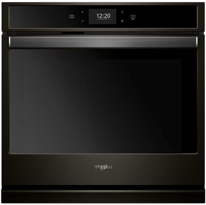 Whirlpool  WOS72EC0HV Single Wall Oven Black Stainless Steel, Main Image