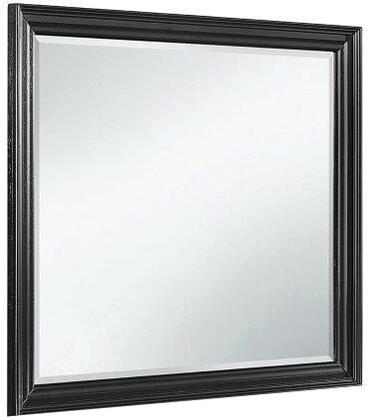 Global Furniture USA Carter CARTERM Mirror Black, Main Image