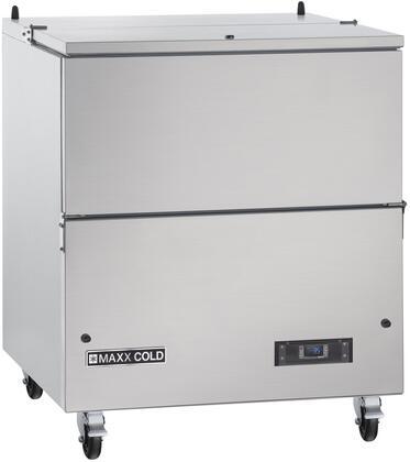 Maxx Cold X Series MXMC34HC Commercial Milk Cooler Stainless Steel, MXMC34HC Milk Cooler