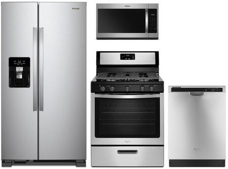 Whirlpool 864661 Kitchen Appliance Package & Bundle Stainless Steel, main image