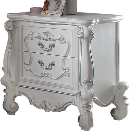 Acme Furniture Versailles 30653 Nightstand White, 1