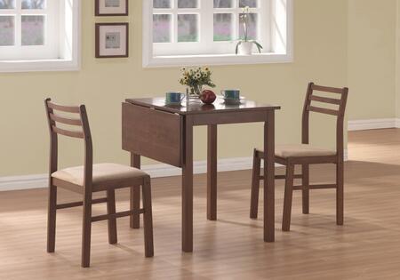 Monarch  I1079 Dining Room Set Brown, I%201079
