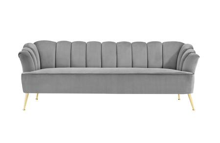 Chic Home Alexia FSA9534AC Stationary Sofa Gray, Main Image