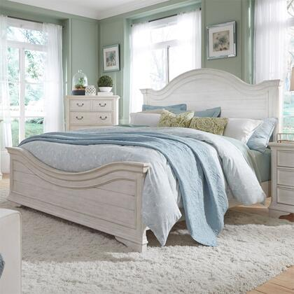 Liberty Furniture Bayside 249BRQPB Bed White, 249 br qpb