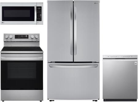 LG  1240309 Kitchen Appliance Package Stainless Steel, Main image