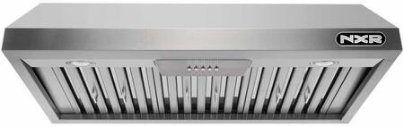 EH3619 36″ Undercabinet Range Hood with 800 CFM  LED Lighting  Stainless Steel Baffle Filters and Delay Power Auto Shut Off in Stainless