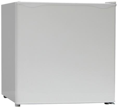 RM16J0W 19″ Compact Refrigerator with 1.6 cu. ft. Capacity  Reversible Door and Separate Chiller Compartment in