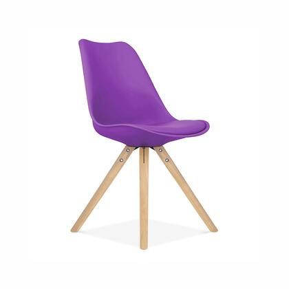 Design Lab MN Viborg LS1000PRPNAT Accent Chair Purple, a3f60417 1189 4f70 9878 b318c52f2885