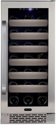 Whynter Elite BWR331SL Wine Cooler 26-50 Bottles Stainless Steel, Main Image