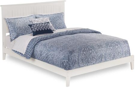 Atlantic Furniture Nantucket AR8241032 Bed White, AR8241032