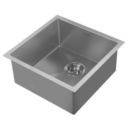 Whitehaus Noah Plus WHNPL1818GM Sink Gray, Main Image