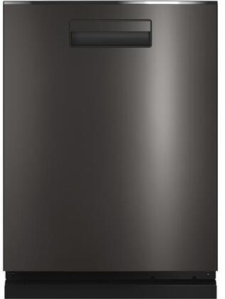 QDP555SBNTS 24″ Built-In Dishwasher with 16 Place Settings  Cap Touch Controls  Built-In WiFi Connect  10 Options  in Black Stainless