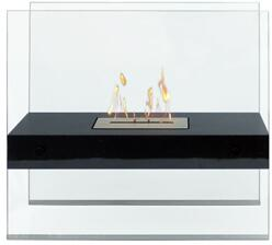 90206 Eco-Friendly Indoor/Outdoor Fireplace In Madison (Black)