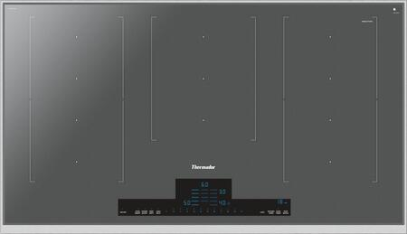 Thermador Masterpiece CIT367TMS Induction Cooktop Silver, CIT367TMS36-Inch Liberty Induction Cooktop