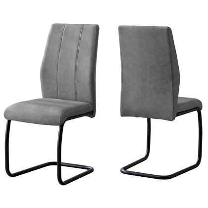 Monarch I1113 Dining Room Chair Black, I%201113