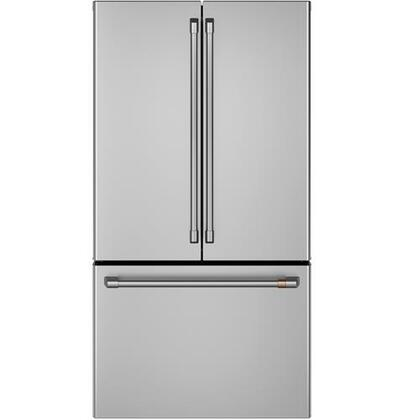 Cafe Customizable Professional Collection CWE23SP2MS1 French Door Refrigerator Stainless Steel, Main Image