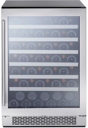 PRW24C01BG 24″ Presrv Single Zone Wine Cooler with 53 Bottle Capacity  PreciseTemp  Vibration Dampening System  Active Cooling Technology and 3-Color